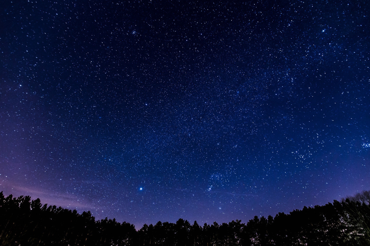 Niebo nocą