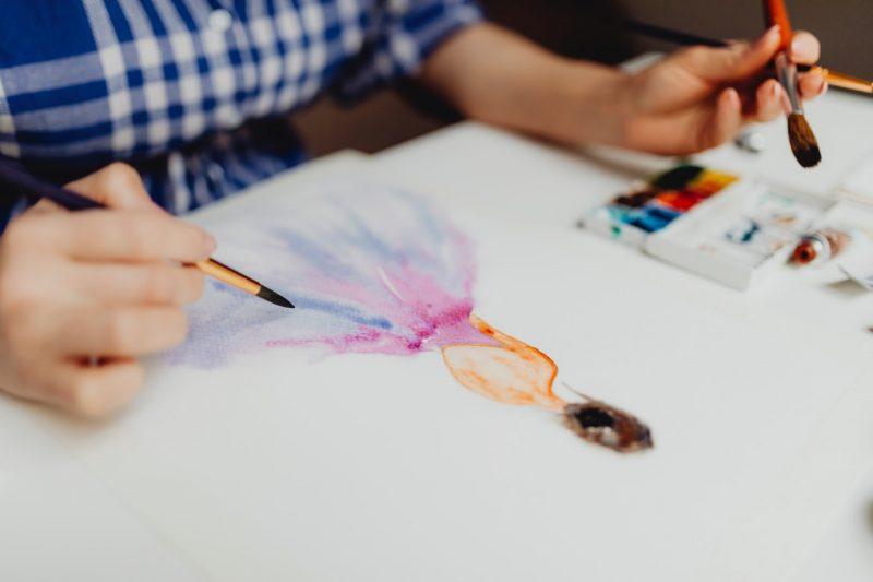 Kreatywne ćwiczenia rysunku. Początek kariery zawodowej.