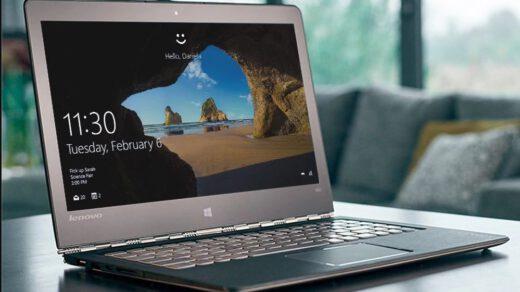 laptop z oprogramowaniem windows