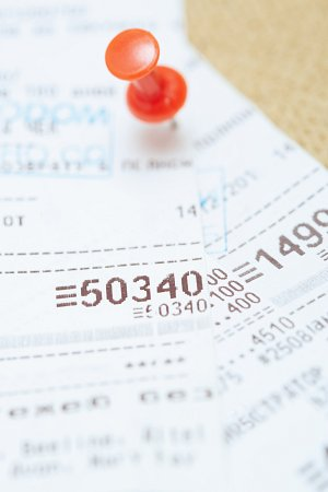 rachunki z kasy fiskalnej