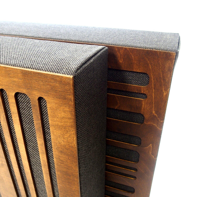 drewniane panele akustyczne