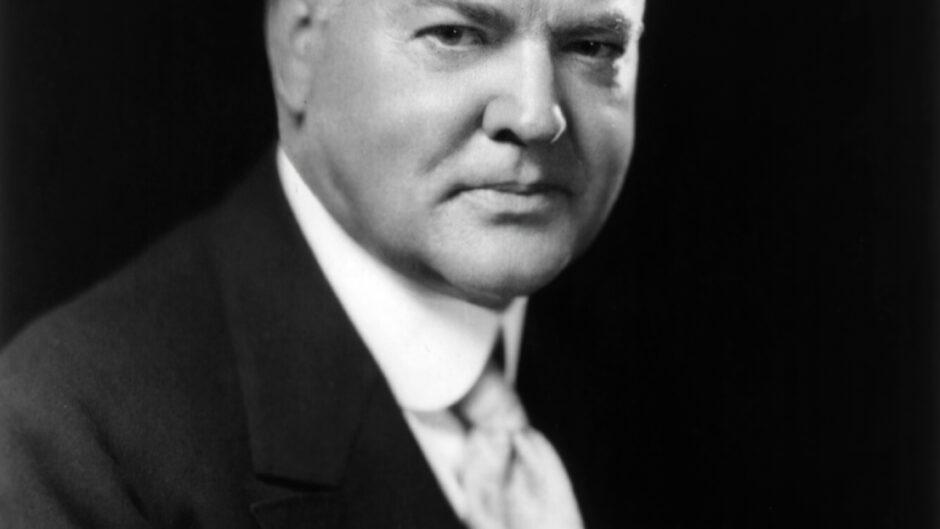 Herbert Hoover portret