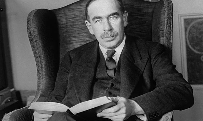 John Maynard Keynes twórca Teorii Keynesowskiej