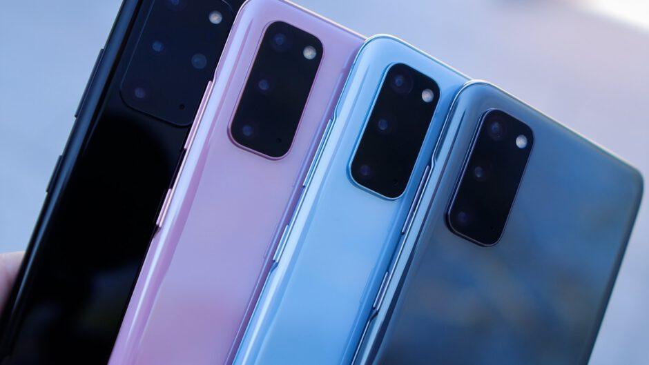 Telefony Samsung.
