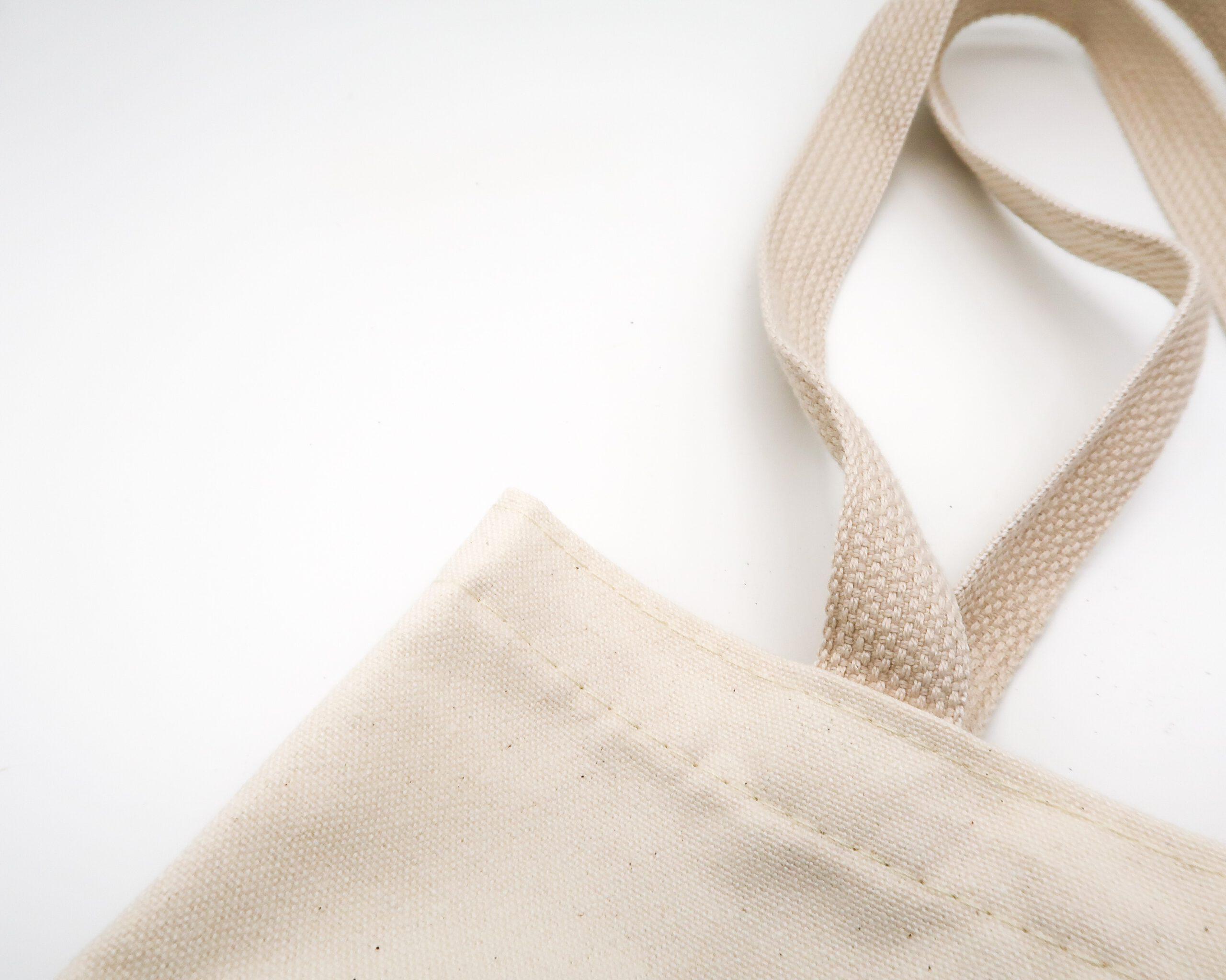 Bawełniana torba jako firmowy gadzet.