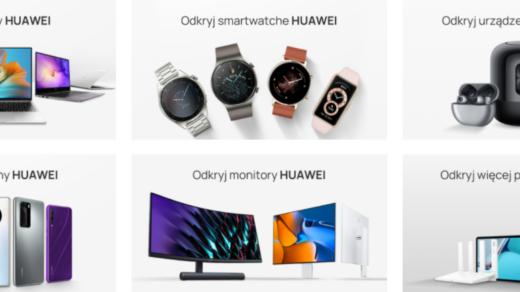 Produkty technologiczne od Huawei