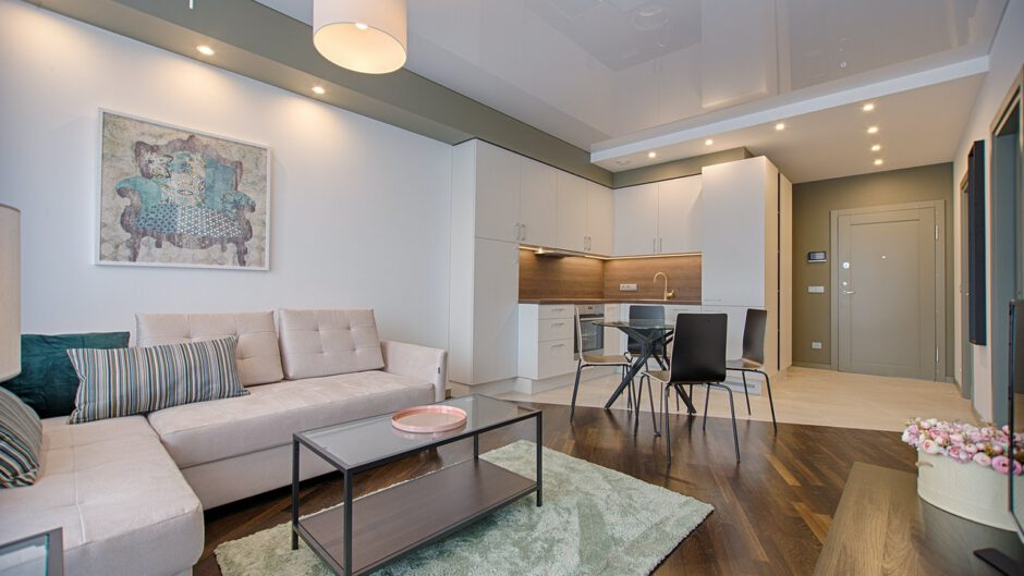 Urządzone mieszkanie z pomocą projektanta wnętrz