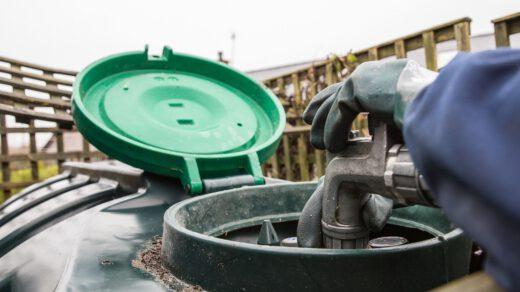 Zbiornik na olej napędowy